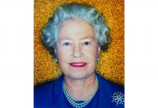 Her Majesty, The Queen, Elizabeth II (gold)